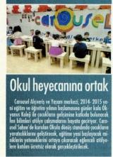 OKUL HEYECANINA ORTAK - CUMHURİYET