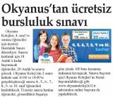 OKYANUS'TAN ÜCRETSİZ BURSLULUK SINAVI - İSTANBUL