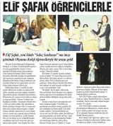 ELİF ŞAFAK ÖĞRENCİLERLE - İSTANBUL