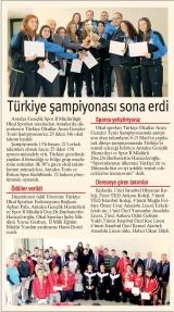 TÜRKİYE ŞAMPİYONASI SONA ERDİ - İLERİ
