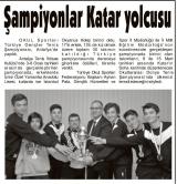ŞAMPİYONLAR KATAR YOLCUSU - TOROS GAZETESİ