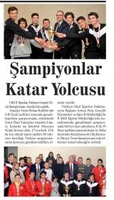 ŞAMPİYONLAR KATAR YOLCUSU - AYYILDIZ TOROS