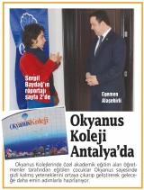 Okyanus Koleji Antalya'da - ANTALYA EKSPRES