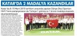 Katar'da 2 Madalya Kazandılar. - HABERDE DENGE YEREL GÜNLÜK GAZETE