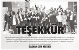 TEŞEKKÜR - GAZETEMİSTANBUL