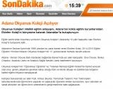 Adana Okyanus Koleji Açılıyor - HABERTOPLAM.COM