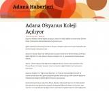Adana Okyanus Koleji Açılıyor - ADANA.HABERLERI.CO