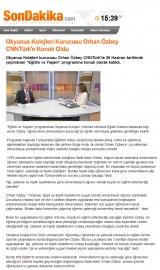 Okyanus Kolejleri Kurusucu Orhan Özbey CNNTürk'e Konuk Oldu - SONDAKIKA.COM