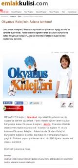 Okyanus Koleji'nin Adana Tanıtımı - EMLAKKULISI.COM