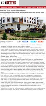 Geleceğin Mimarlarından, Meslek Ziyareti - TRT1HABER.COM