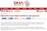 Öğrenciler hayal ettiği meslekte bir gün geçiriyor - DHA.COM.TR