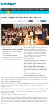 TWEETSPOR.COM - Okyanus öğrencileri ödüllerini Sabri'den aldı