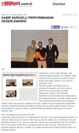 MİLLİYET.COM.TR - Sabri Sarıoğlu Performansını Değerlendirdi