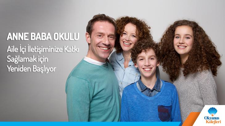 Anne Baba Okulu Aile İçi İletişiminize Katkı Sağlamak için Yeniden Başlıyor!