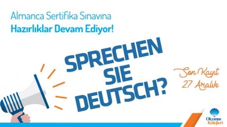 Almanca Sertifika Sınavına Hazırlıklar Devam Ediyor!