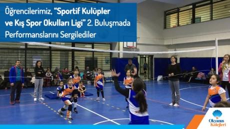 Öğrencilerimiz 'Sportif Kulüpler Ve Kış Spor Okulları Ligi' 2.Buluşmada Performanslarını Sergilediler..