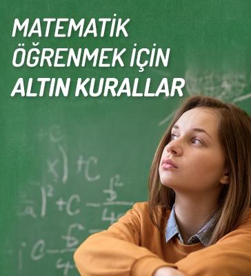 Matematik Öğrenmek İçin Altın Kurallar