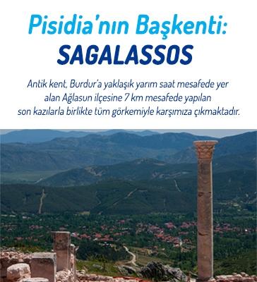 Pisidia'nın (Göller Bölgesi) Başkenti: Sagalassos