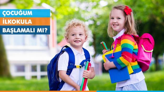 Çocuğum İlkokula Başlamalı mı?
