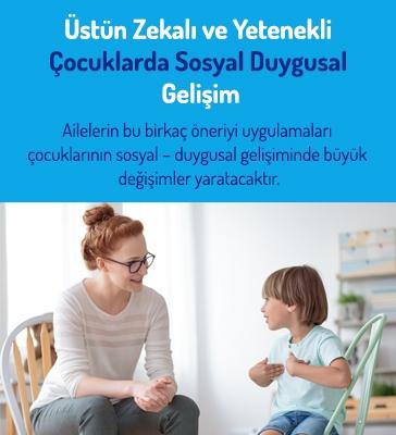 Üstün Zekalı ve Yetenekli Çocuklarda Sosyal Duygusal Gelişim