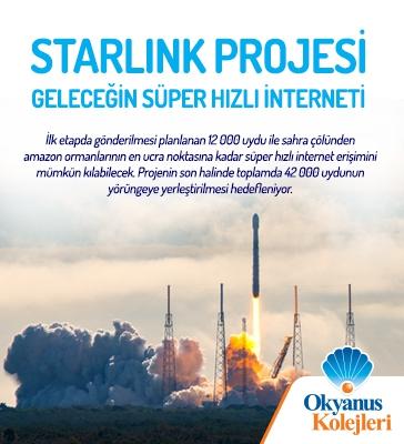 """Starlink Projesi """"Geleceğin Süper Hızlı İnterneti"""""""