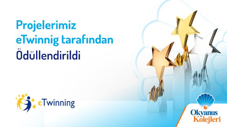 Projelerimiz e-Twinning Tarafından Ödüllendirildi