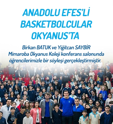 Anadolu Efes'li Basketbolcular Okyanus'ta