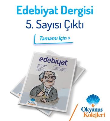 Edebiyat Dergisi 5.Sayı Çıktı!
