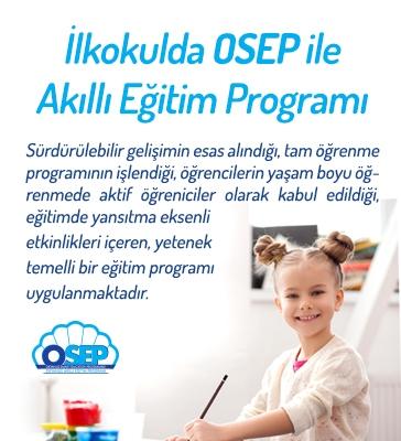 İlkokulda OSEP ile Akıllı Eğitim Programı