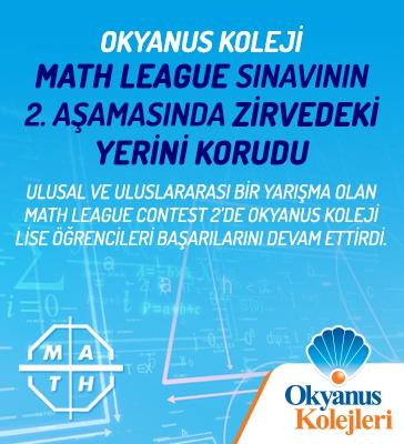Math League Sınavının 2. Aşamasında Okyanus Koleji Zirvedeki Yerini Korudu