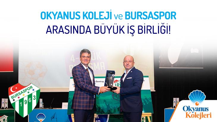 Okyanus Kolejleri İle Bursaspor Kulübü'nden Büyük İş Birliği