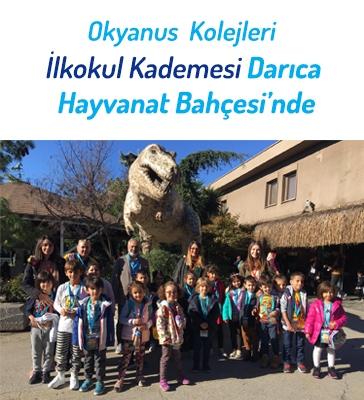 Okyanus Kolejleri İlkokul Kademesi Darıca Hayvanat Bahçesi'nde