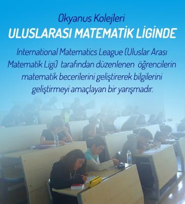 Okyanus Koleji Uluslarası Matematik Liginde