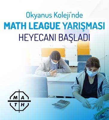 Okyanus Kolejlerinde Math League Heyecanı Başladı