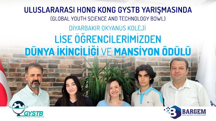 Diyarbakır Okyanus Koleji Öğrencilerine Uluslararası Bilim ve Teknoloji Yarışması'ndan Dünya İkinciliği ve Mansiyon Ödülü