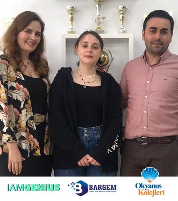 Öğrencimiz Selin Aşık Türkiye Üçüncüsü
