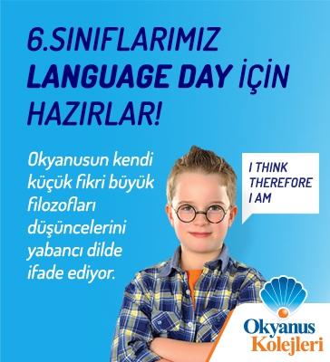 6.Sınıflarımız Language Day İçin Hazırlar!