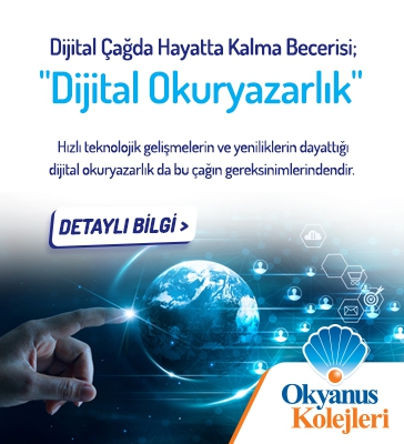 """Dijital Çağda Hayatta Kalma Becerisi; """"Dijital Okuryazarlık"""""""