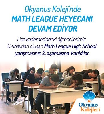 Okyanus Kolejinde Math League Heyecanı Devam Ediyor!