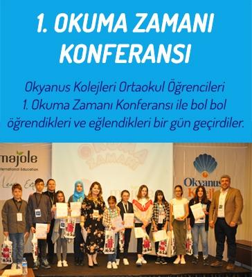 1. Okuma Zamanı Konferansı İstanbul'da Yapıldı