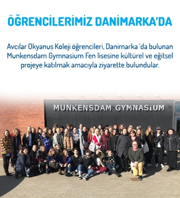 Öğrencilerimiz Danimarka'da