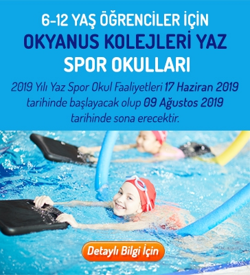 Okyanus Kolejleri Yaz Spor Okulları (6-12 Yaş)