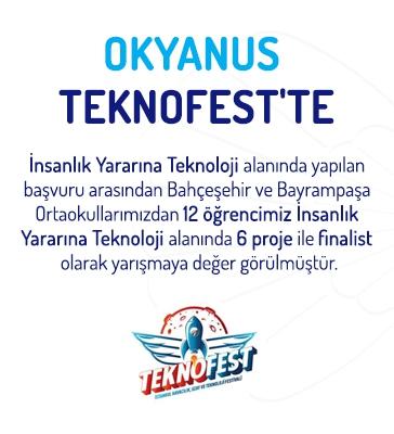 Okyanus TEKNOFEST'te