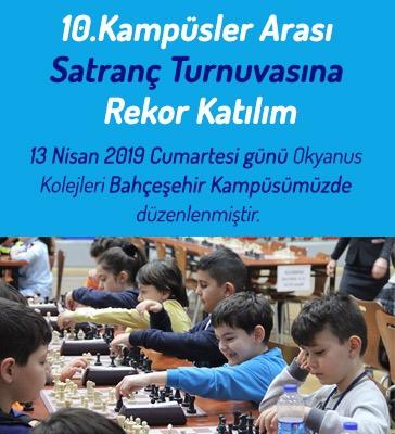 10.Kampüsler Arası Satranç Turnuvası Rekor Katılım Oranı ile Düzenlendi