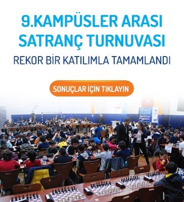 9. Kampüsler Arası Satranç Turnuvası Rekor Bir Katılımla Düzenlendi