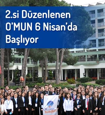 2.si Düzenlenen O'MUN 6 Nisan'da Başlıyor
