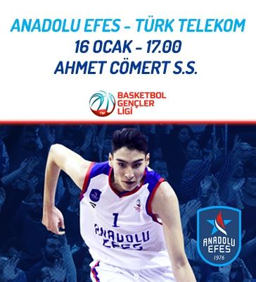 Anadolu Efes - Türk Telekom Basketbol Gençler Ligi Maçı