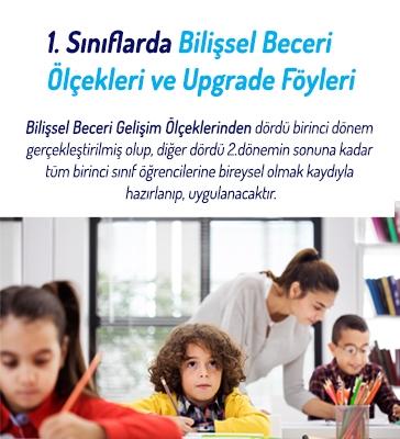 1.Sınıflar Bilişsel Beceri Ölçekleri ve Upgrade Föyleri