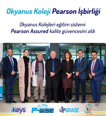 Okyanus Koleji Pearson İşbirliği