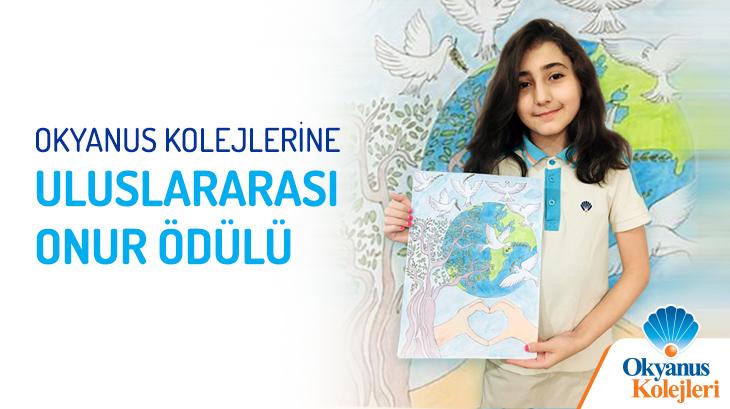 Okyanus Kolejlerinden Uluslararası Onur Ödülü Başarısı